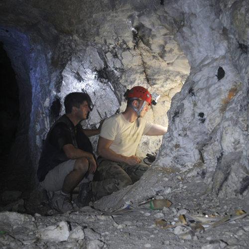 Underground exploration and researches in the Pederneira mine, Minas Gerais, Brazil. Marco Lorenzoni photos